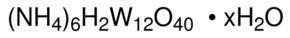 Sigma-Aldrich/Ammonium metatungstate hydrate/10035-100G/100G