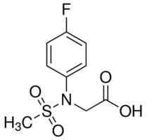 Sigma-Aldrich/N-(4-fluorophenyl)-N-(methylsulfonyl)glycine/CDS016172-50MG/50MG