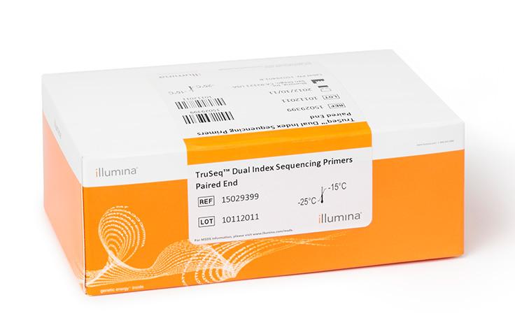 Illumina/TruSeq Dual Index Sequencing Primer Box, Paired-End/PE-121-1003/1 Ea