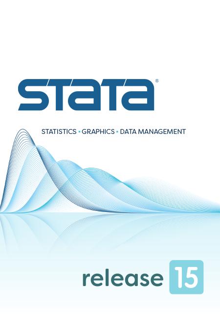Stata 15——数据管理统计绘图软件