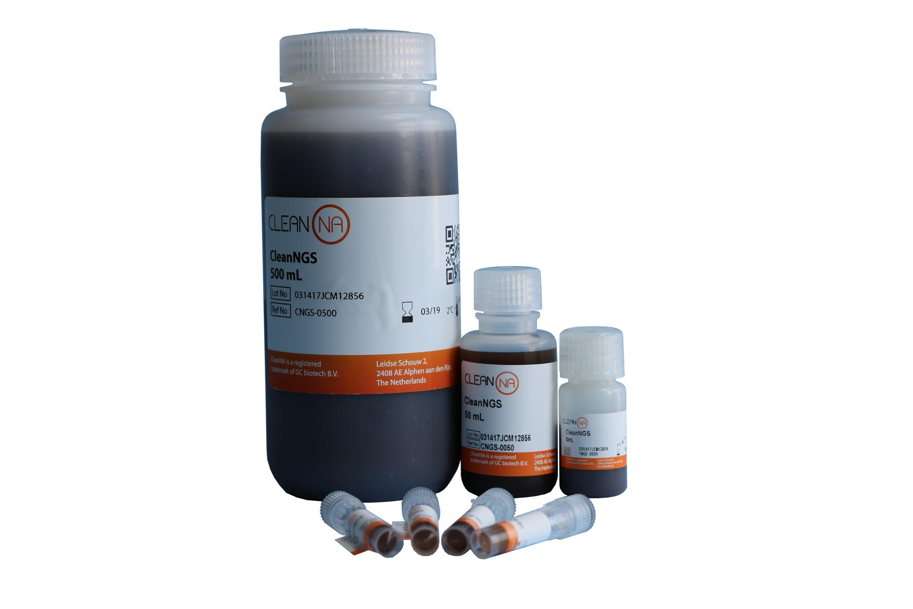 CleanNGS-高通量测序产物纯化及片段筛选专用磁性微球